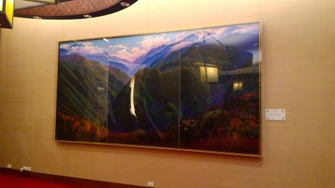 台湾虹庁の絵画4