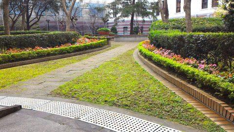 総統府の中庭5