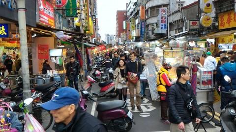 廣州街夜市風景