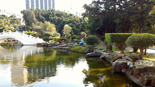 中正紀念堂の庭1