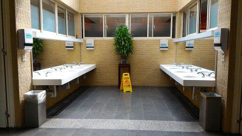 忠烈祠トイレ