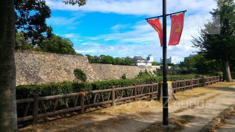大阪府庁前から西外濠