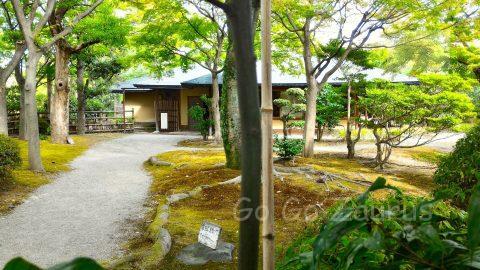 西の丸庭園内・豊松庵(茶室)