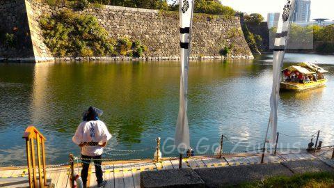 大阪城御座船2