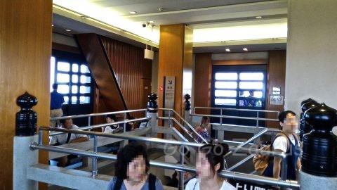 大坂城最上階