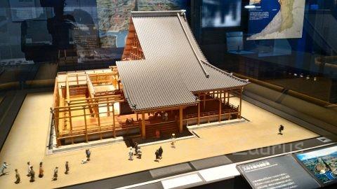 石山本願寺復元模型