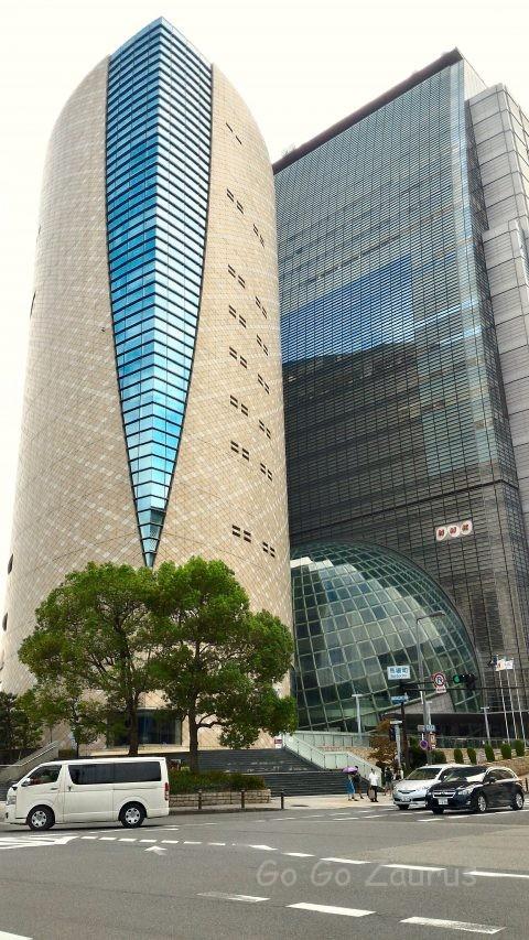 大阪市歴史博物館とNHK大阪放送局