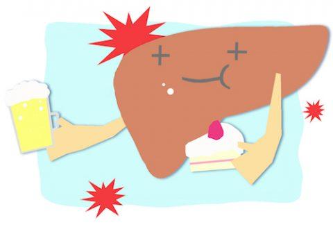 肝臓の負担
