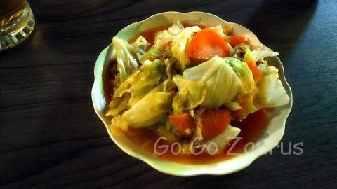 野菜のオイスターソース