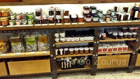健康素材の商品が一杯