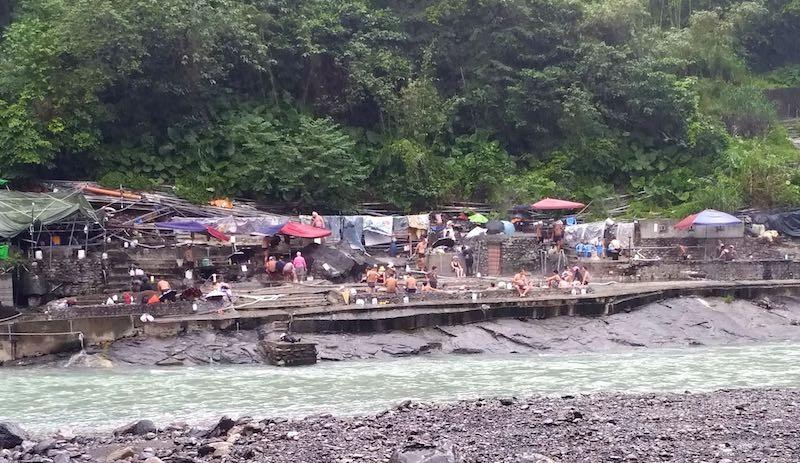 地元民の露天風呂