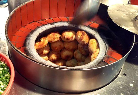 釜の中の胡椒餅