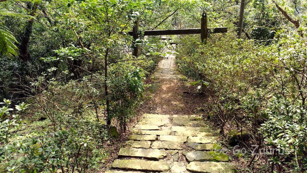 猴硐神社参道(上から