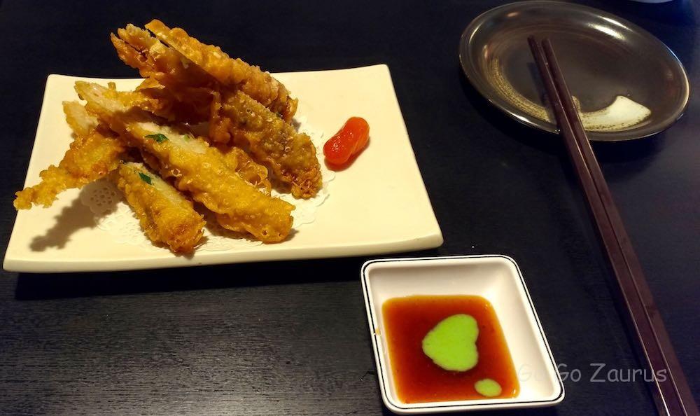 黃金鮮蝦捲