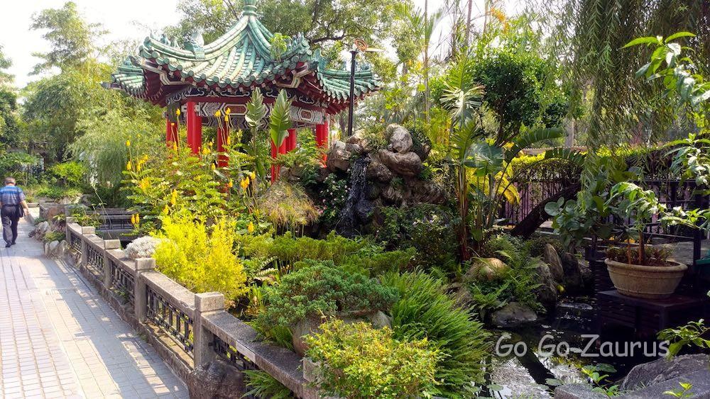 歴史博物館の庭園