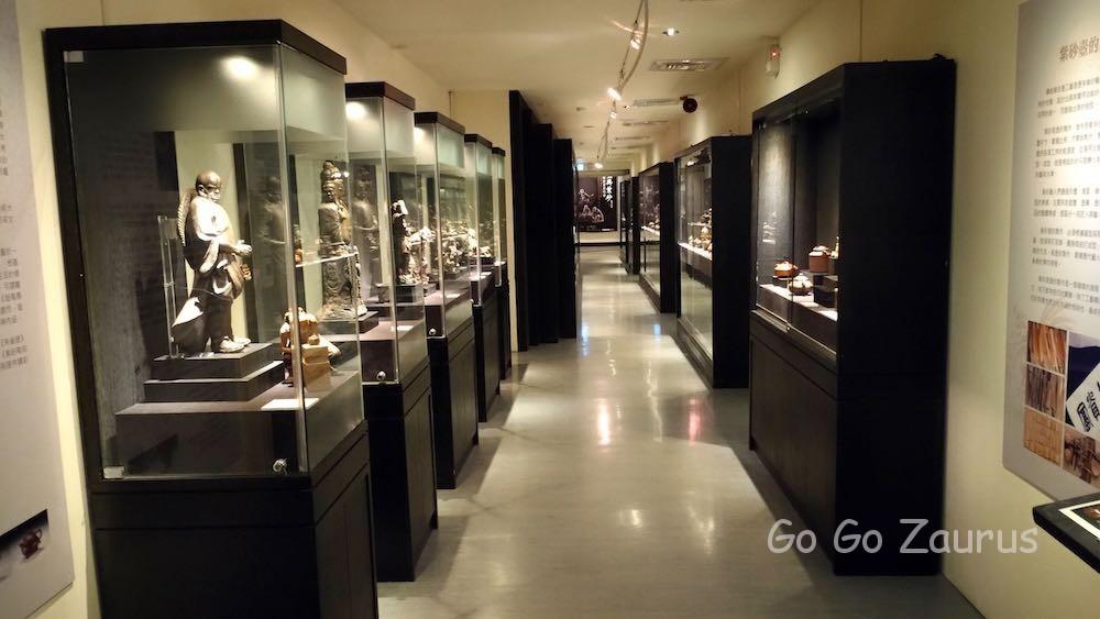 廊下の展示