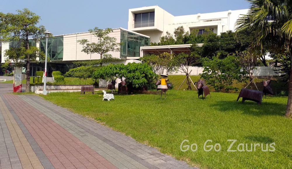 台北市立美術館裏側