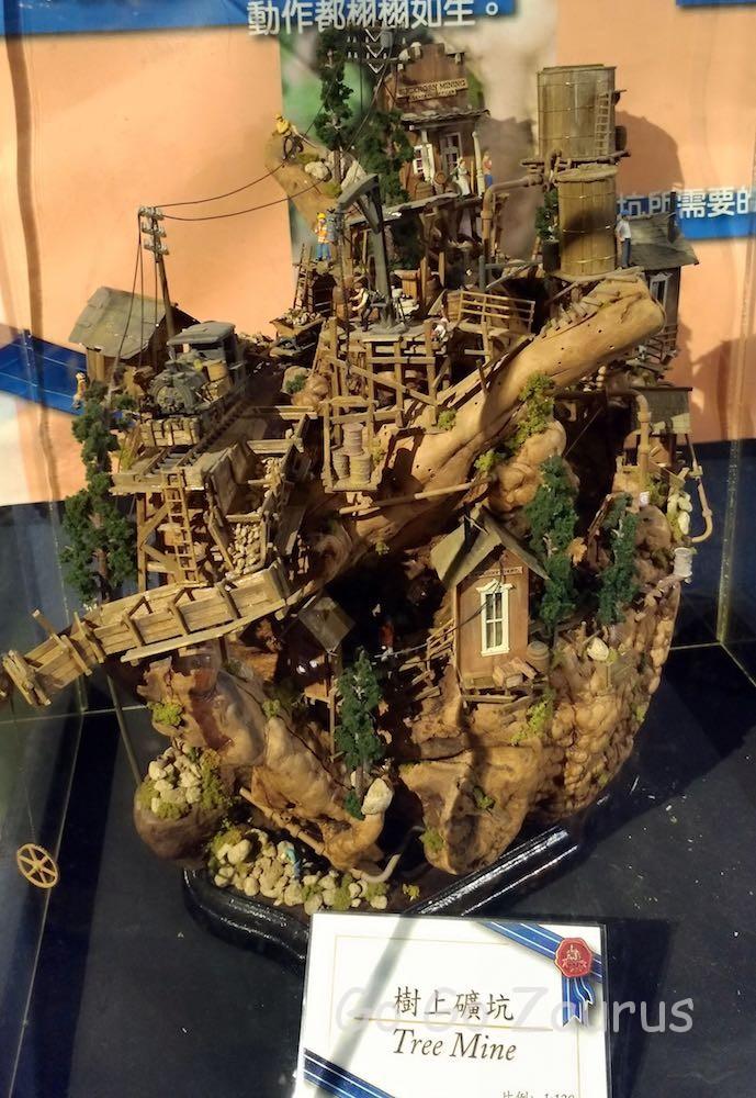 木の上の炭鉱