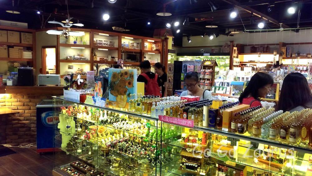 多種多様な商品を用意しているショップ