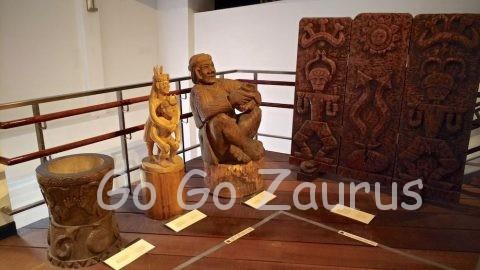 凱達格蘭文化館内展示