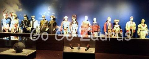 各部族の衣装