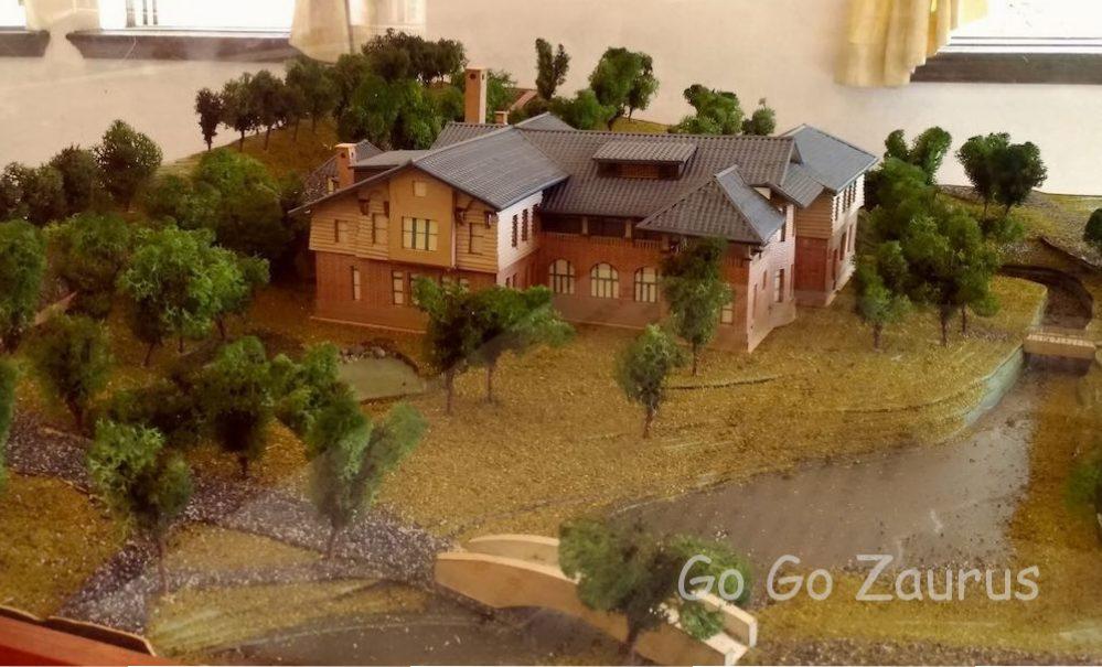 北投温泉博物館模型