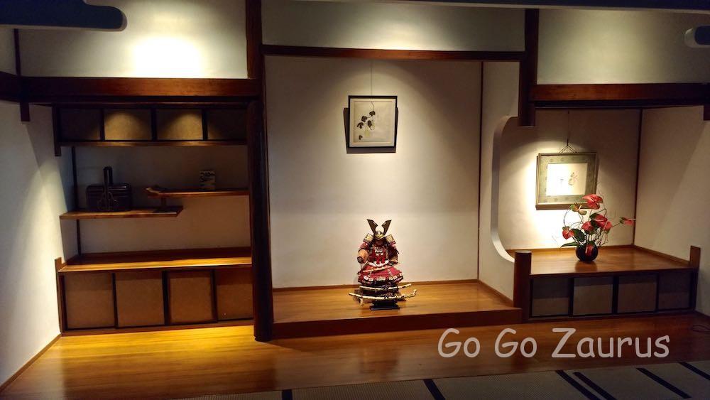 北投文物館室内は日本そのもの
