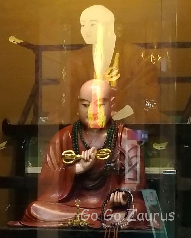 台北天后宮の弘法大師