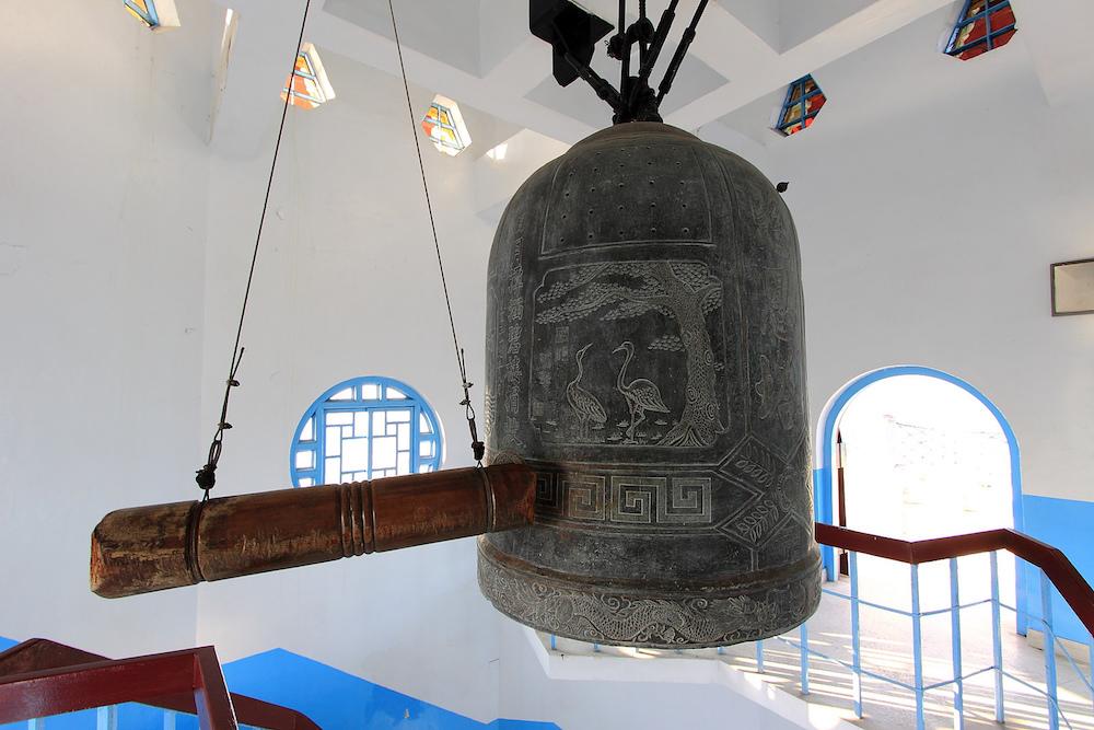 慈恩塔の鐘