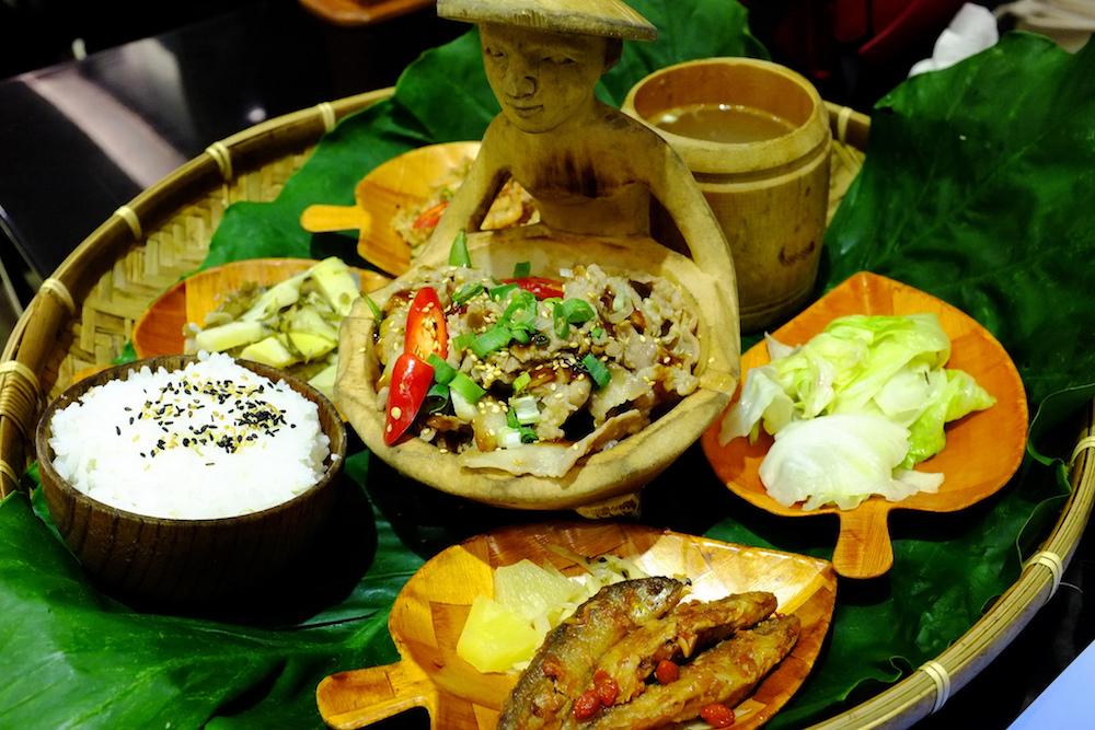 邵族の料理