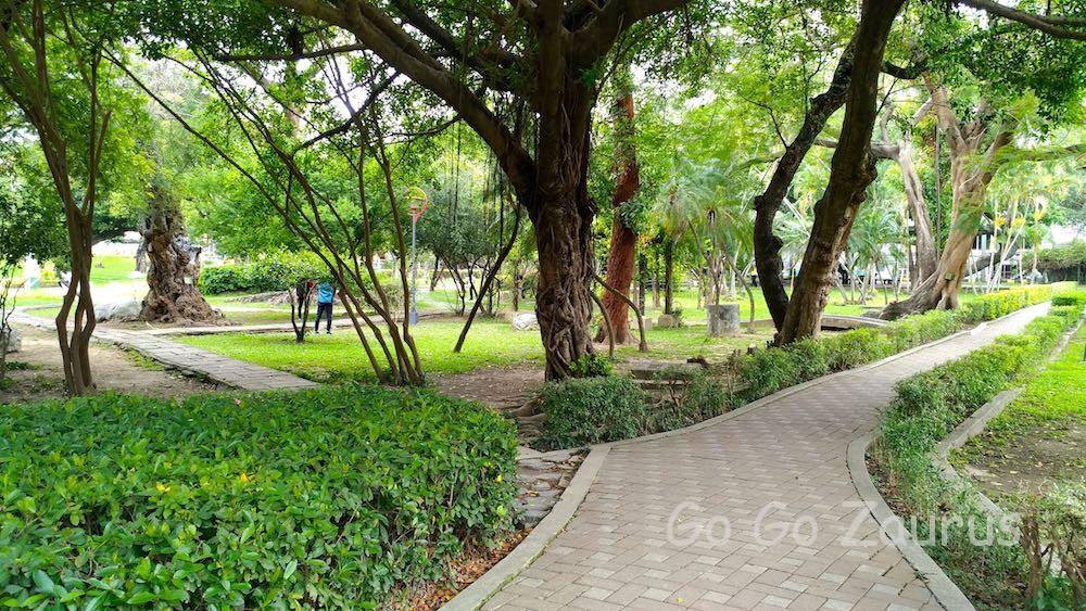 台中公園の木々