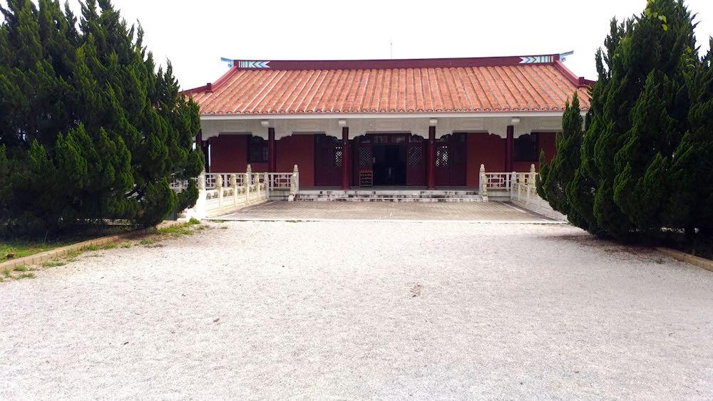 王太夫人の紀念堂