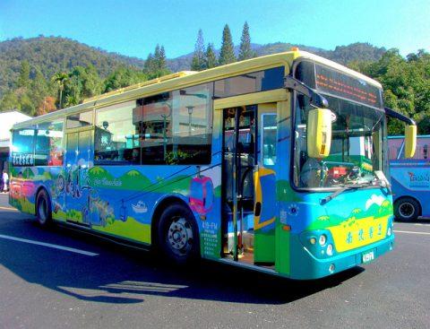 日月潭環湖バス