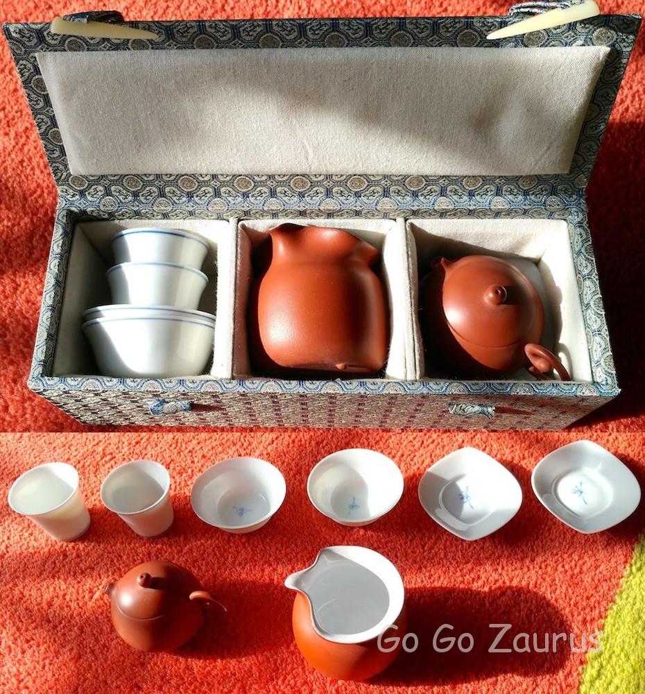 奇古堂の茶器セット