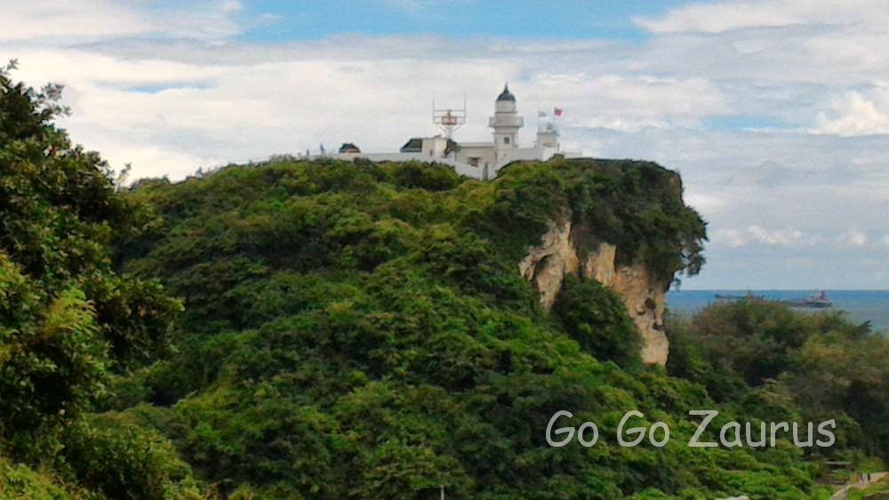 灯台と台湾海峡