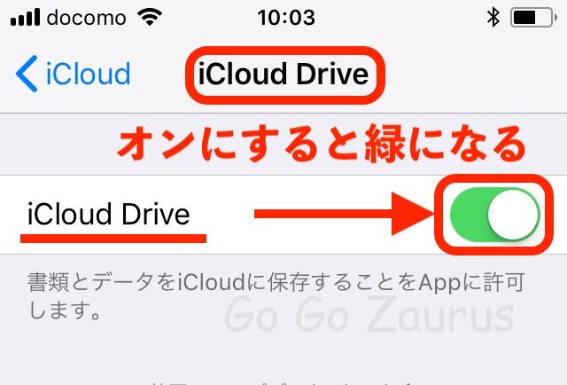 iCloud Drive on