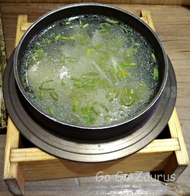 西瓜綿魚片湯