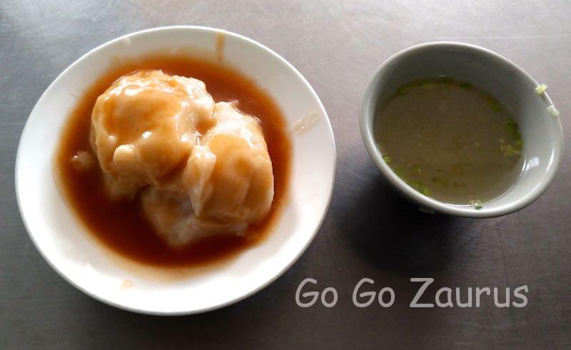 福記肉圓とスープ