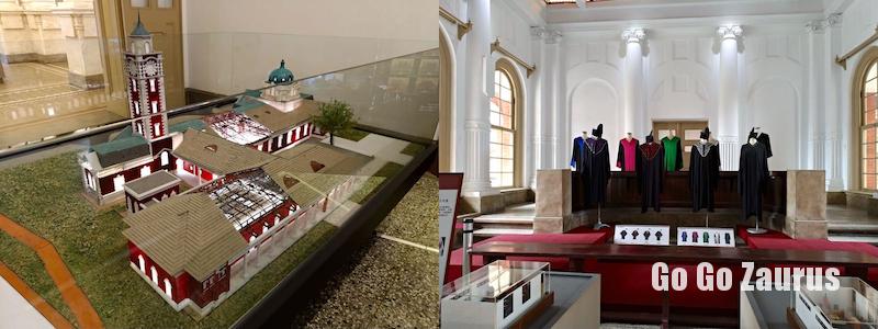 模型と法廷