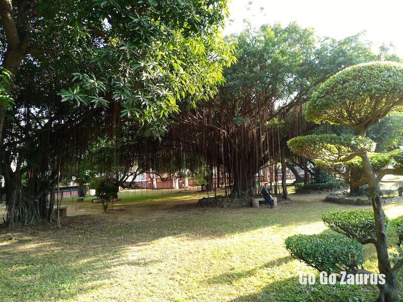 五妃廟の敷地一部