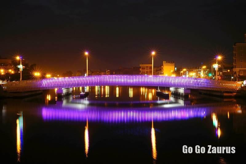 台南運河に掛かる美しい橋 photo by 台南市政府観光旅遊局