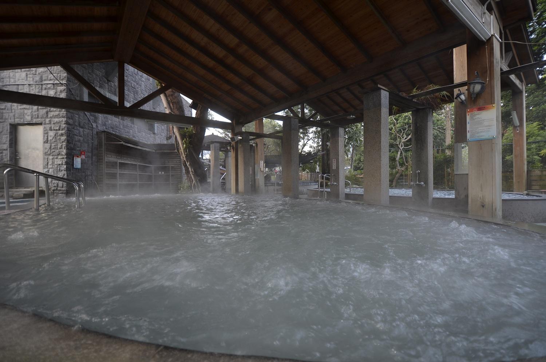 關子嶺統茂溫泉會館露天風呂