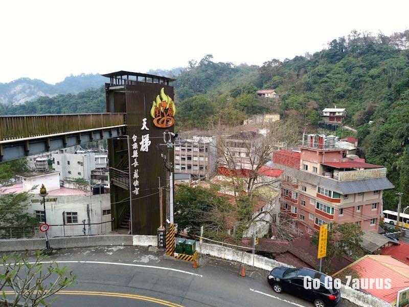 天梯と旧地区