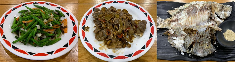 大頭目野食館の料理