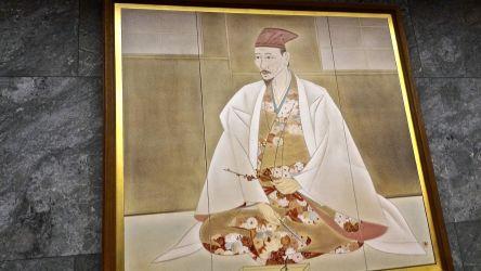 大阪城天守閣内展示