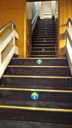 大阪城天守閣内階段が結構厳しい